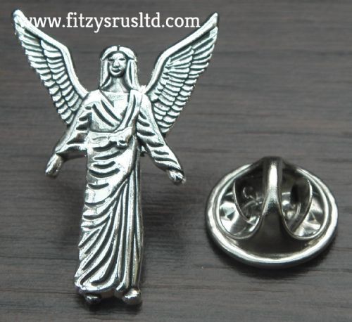 Archangel Gabriel Lapel Hat Tie Pin Badge Holy Angel Gavri'el Garl Brooch